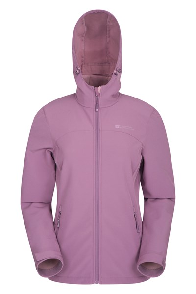 Exodus Womens Softshell Jacket - Purple