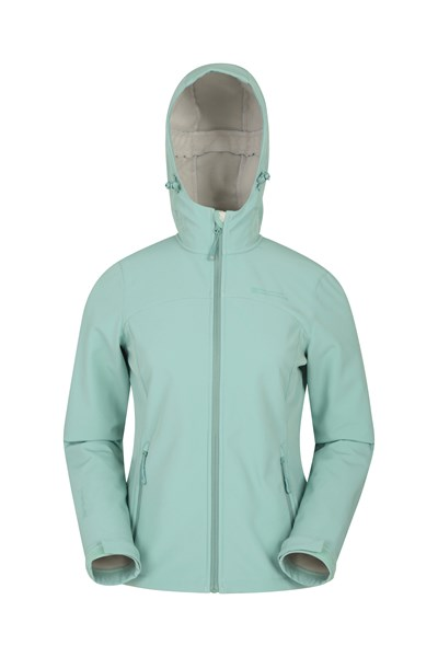 Exodus Womens Softshell Jacket - Green