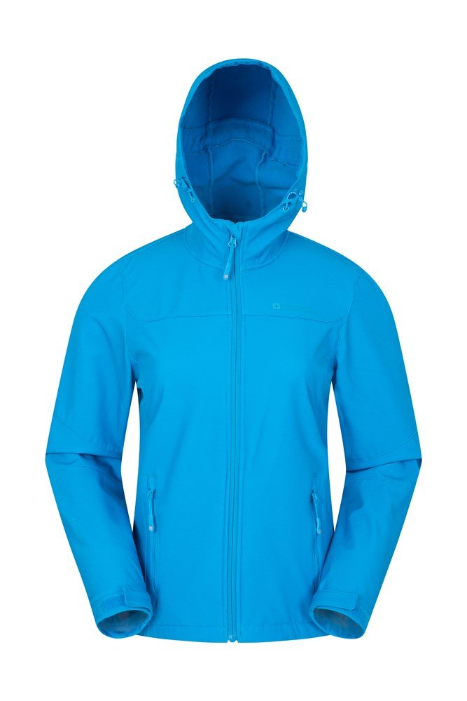 Exodus Womens Water Resistant Softshell Jacket - Turquoise