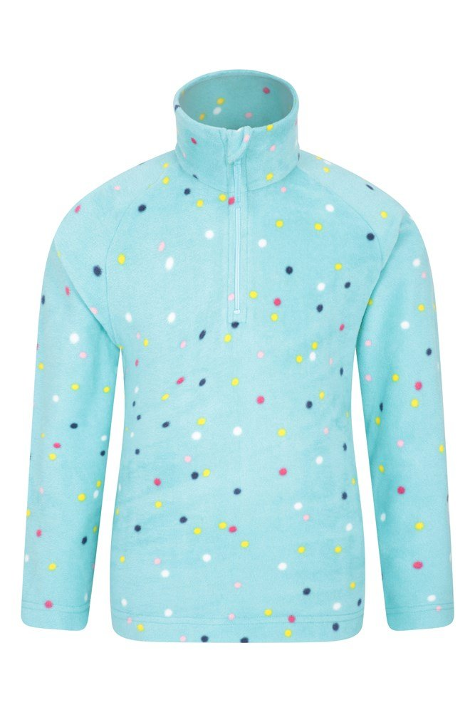 Endeavour Kids Printed Fleece - Green