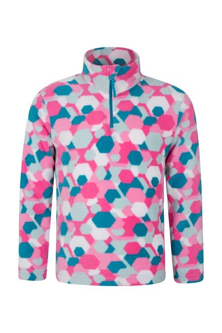 022797 ENDEAVOUR PRINTED KIDS FLEECE