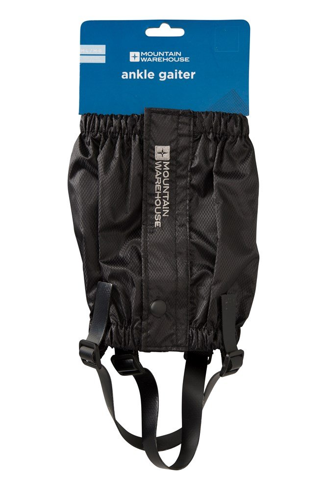 Ankle Gaiters - Black