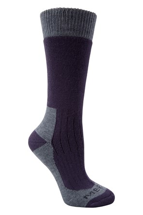 Merino Damen Outdoor-Socken