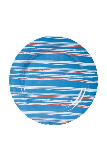 022907 MELAMINE PLATE - PATTERNED