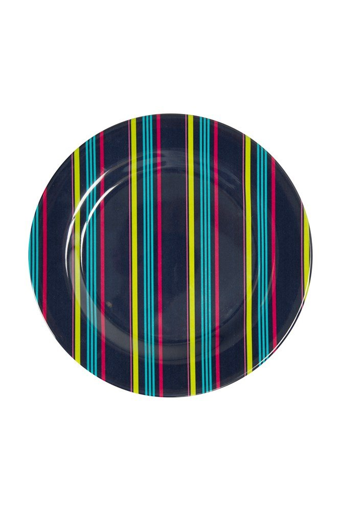 Melamine Picnic Plate - Turquoise