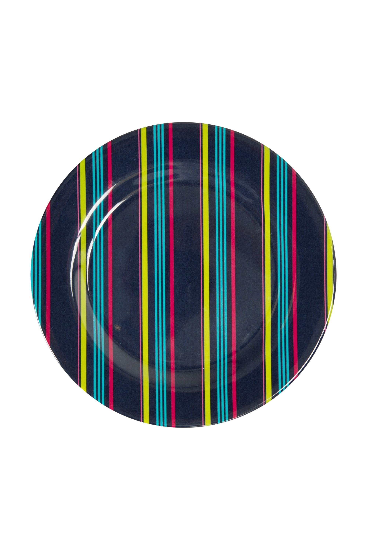 Melamine Picnic Plate - Turquoise