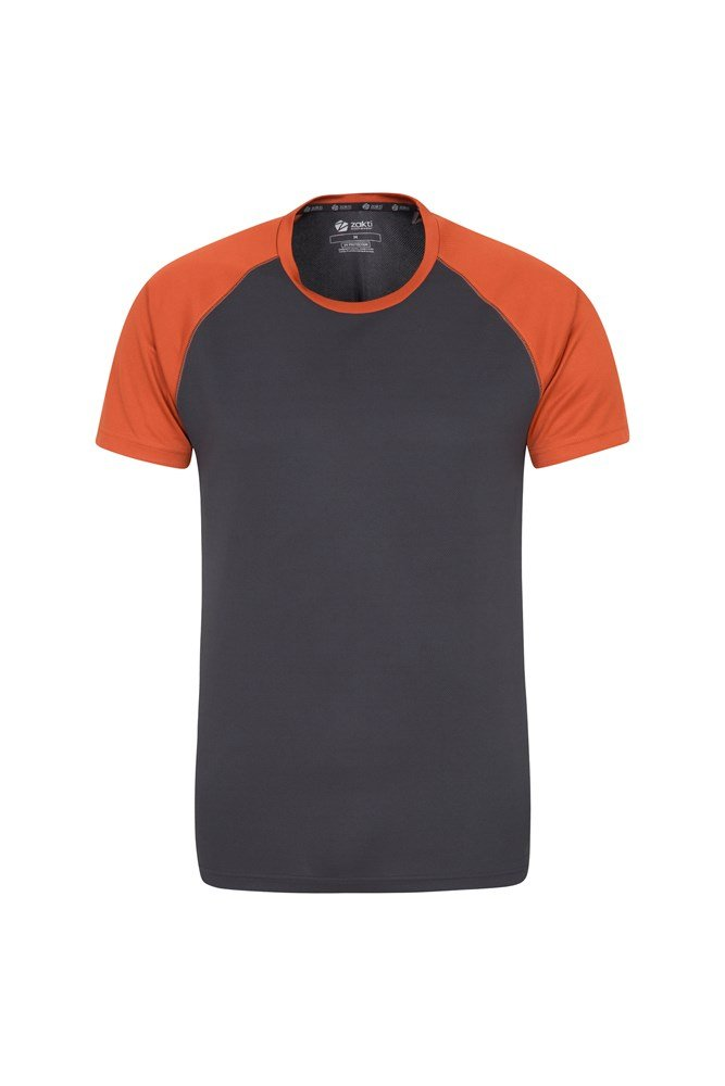 Endurance Mens T-Shirt - Orange