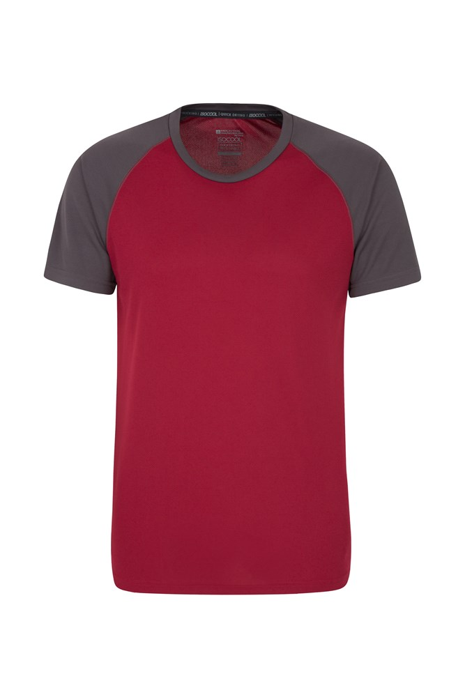 Endurance Mens T-Shirt - Burgundy