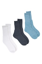 Outdoor Womens Walking Socks - 3 Pack
