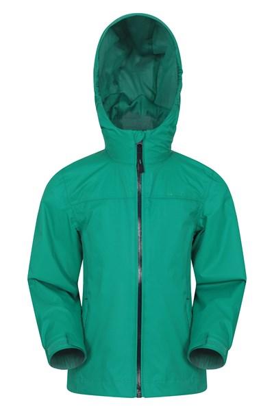 Torrent Kids Waterproof Jacket - Green