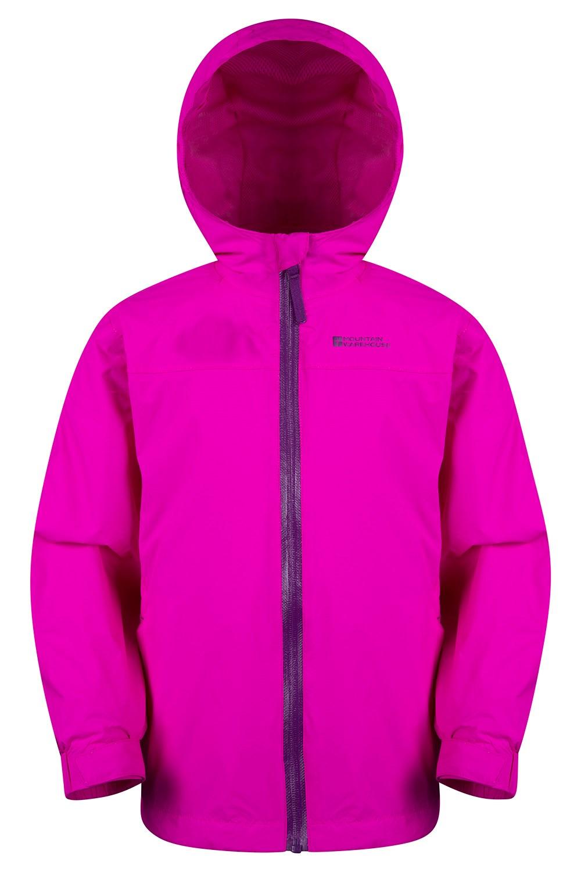 Torrent Youth Waterproof Jacket - Pink