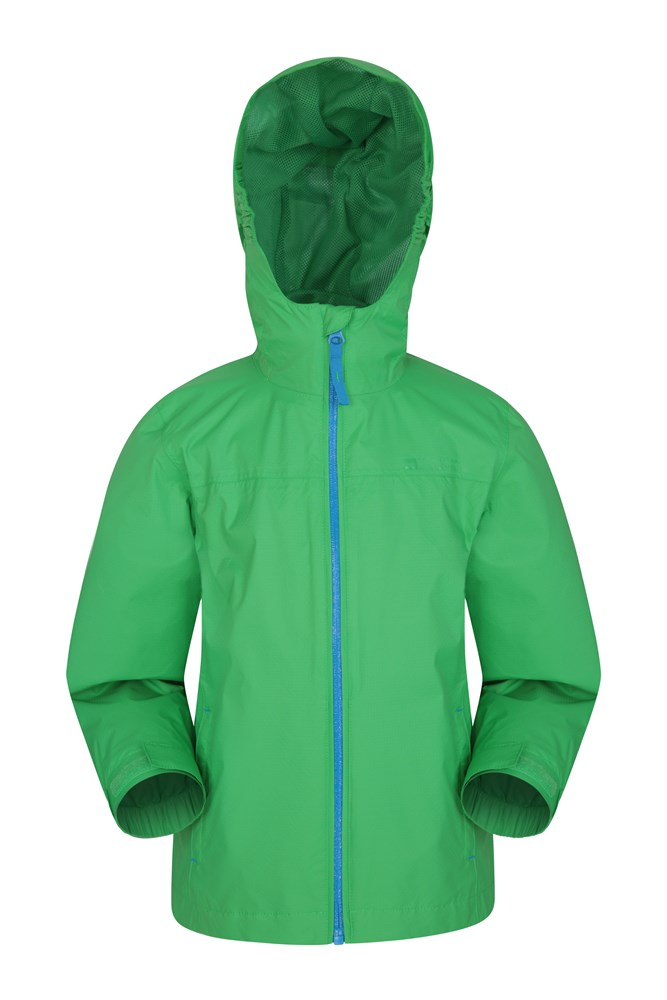 Torrent Kids Waterproof Jacket - Green