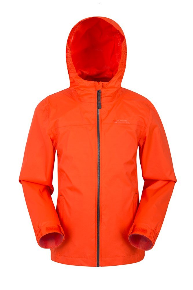 Torrent Kids Waterproof Jacket - Orange