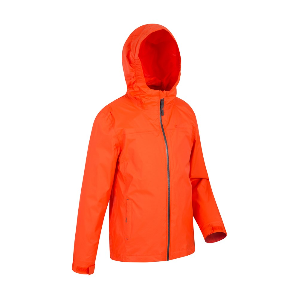 Mountain Warehouse Girls Jacket with Taped Seams and Waterproof Membrane