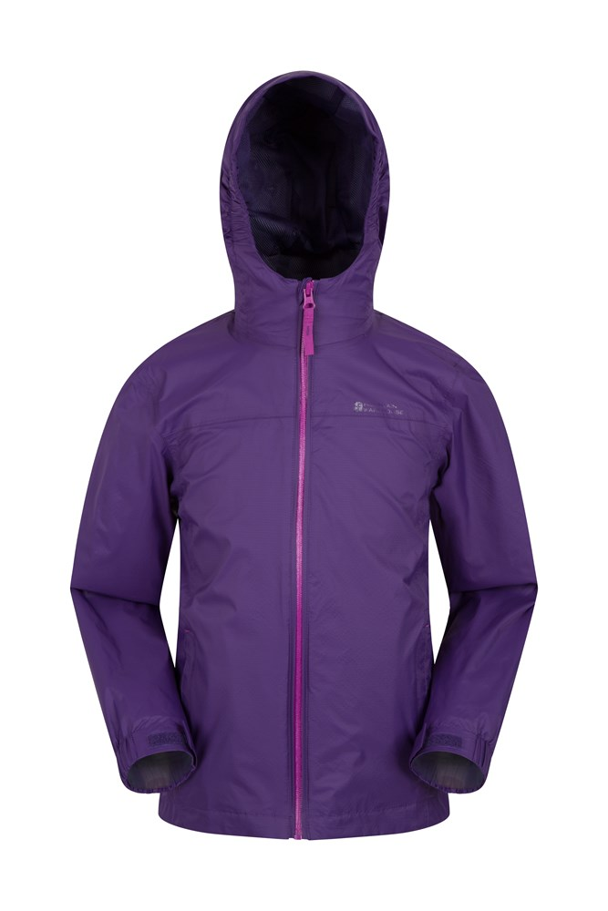 Torrent Kids Waterproof Jacket - Purple