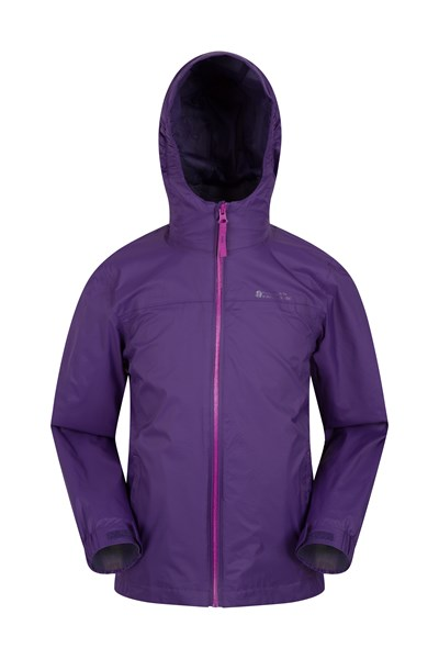 Torrent Kids Waterproof Jacket - Purple