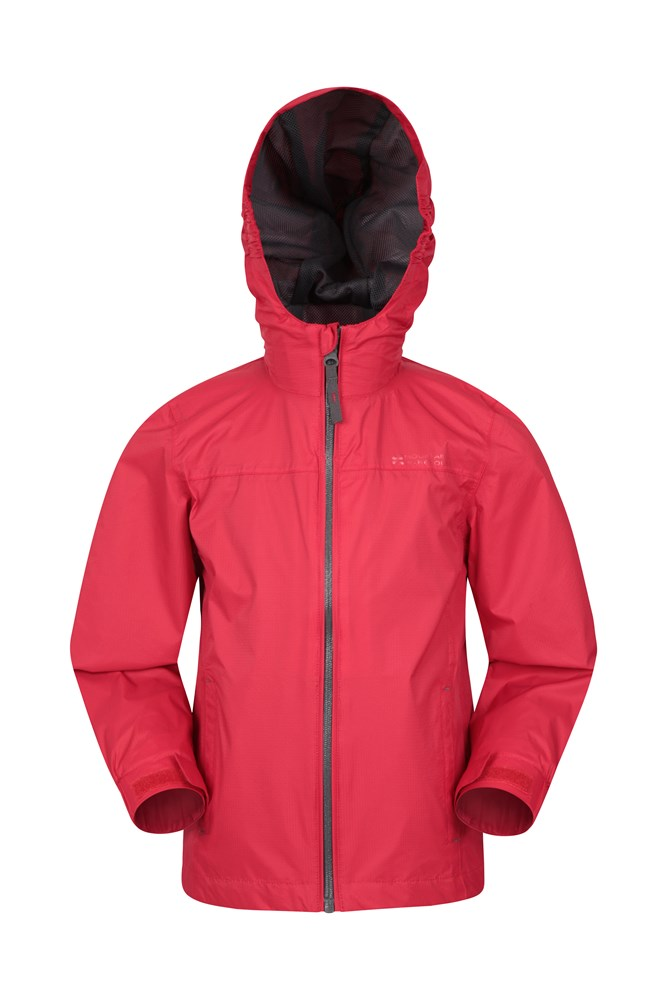 Torrent Kids Waterproof Jacket - Red