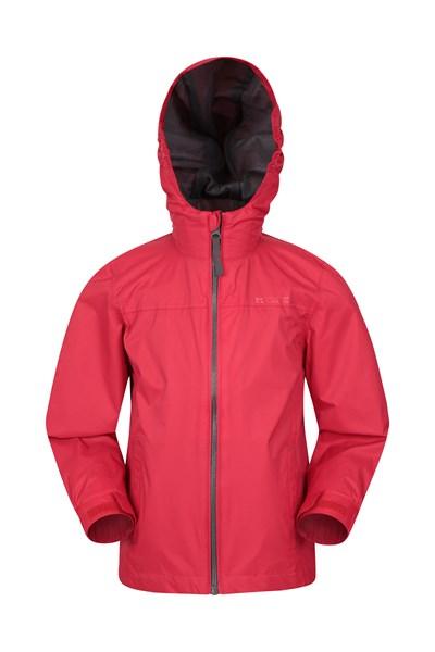 Torrent Kids Waterproof Jacket - Red