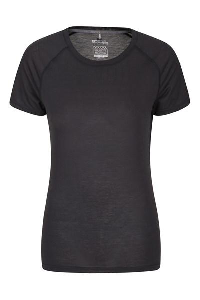 IsoCool Womens Technical T-Shirt - Black