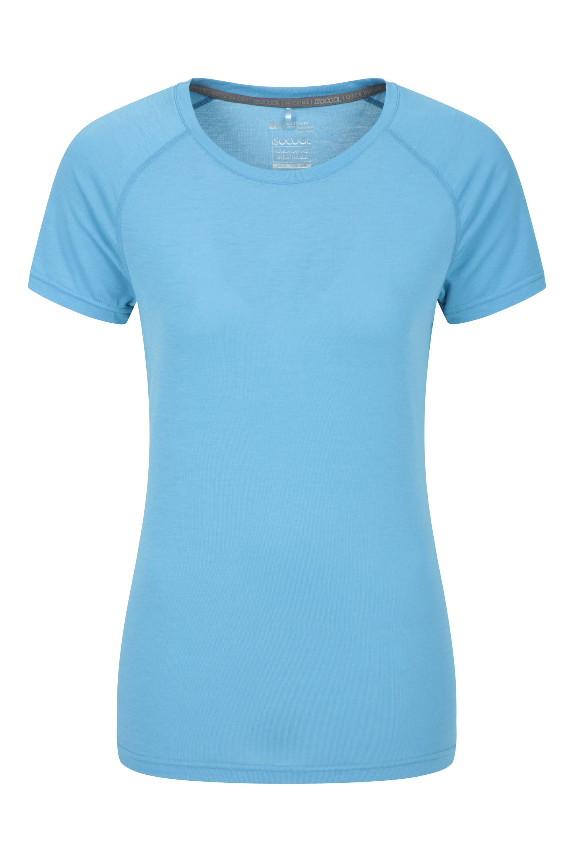 IsoCool – techniczny T-shirt damski - Blue