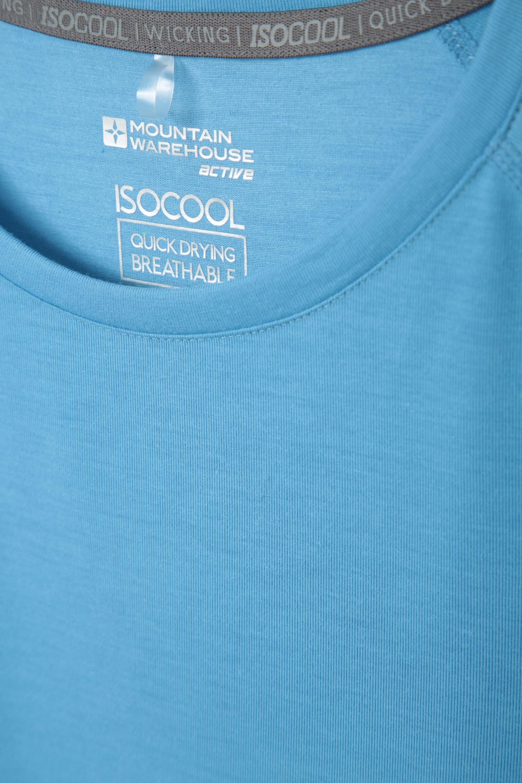 Secado r/ápido Camiseta c/ómoda para Mujer Camiseta Ligera para Viajar Correr Mountain Warehouse Top IsoCool Dynamic para Mujer Camiseta Transpirable
