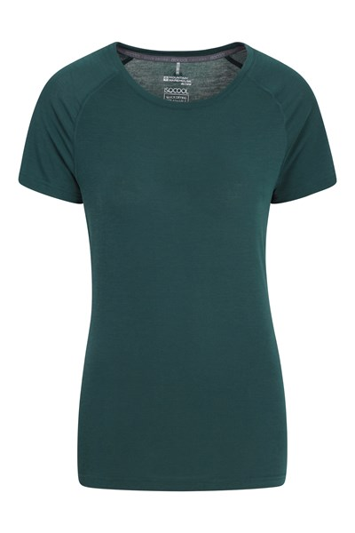 IsoCool Womens Technical T-Shirt - Green
