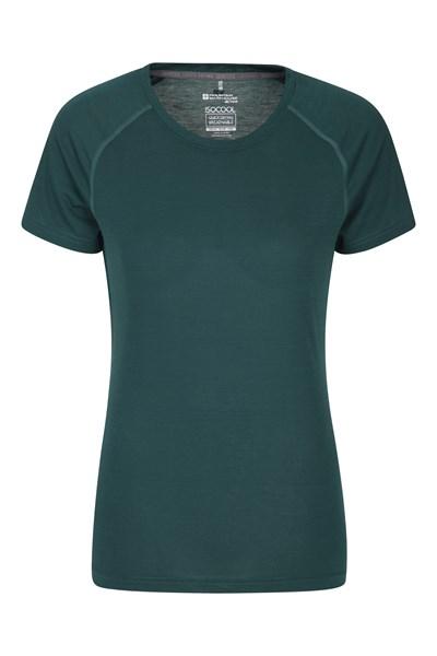 IsoCool Womens Technical T-Shirt - Green