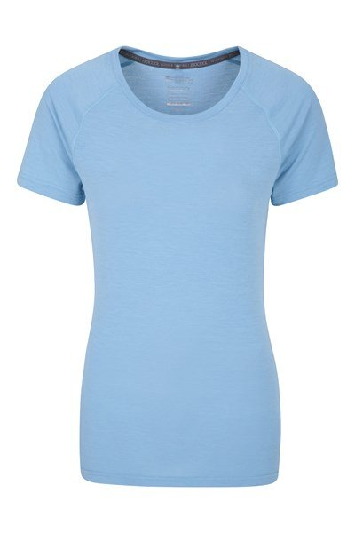 IsoCool Womens Technical T-Shirt - Blue