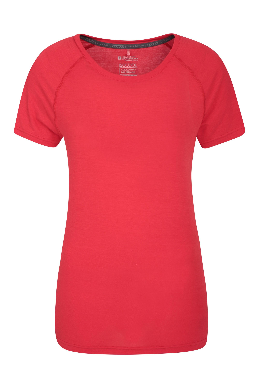 IsoCool – techniczny T-shirt damski - Red