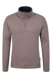 Alpha Mens Zip Neck Top
