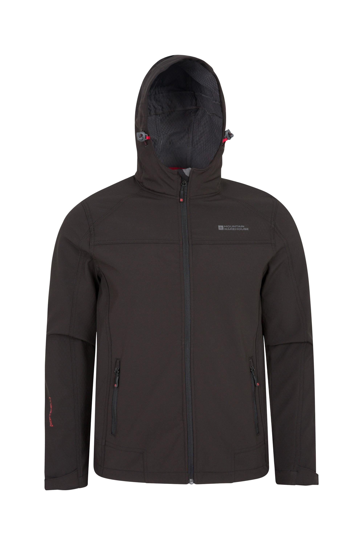 Reykjavik Mens Windproof Softshell - Black