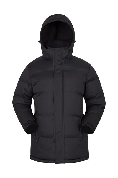Snow Mens Padded Jacket - Black