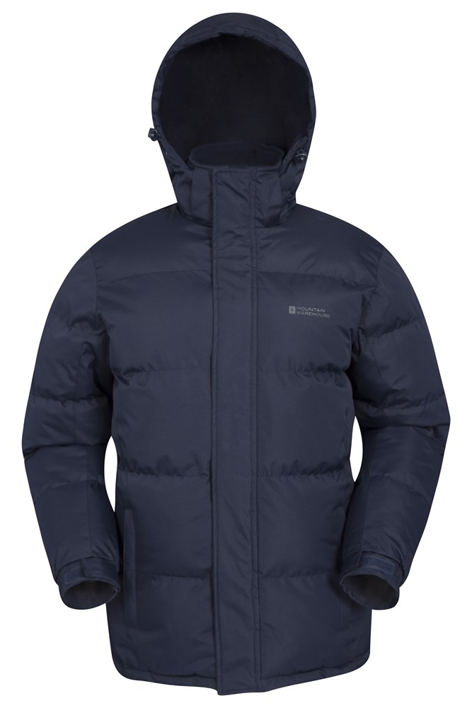 Snow Mens Padded Jacket - Navy