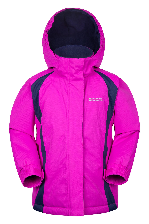 Mountain Warehouse Honey Kinder-Skijacke blau, pink, rosa, türkis, violet | 05052776469524