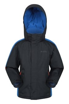 Raptor Kids Snow Jacket  Jet Black