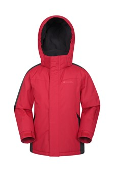 Raptor Kids Snow Jacket  Red