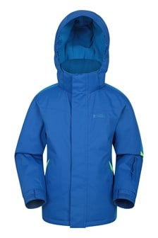 Raptor Kids Snow Jacket  Two Tone Blue