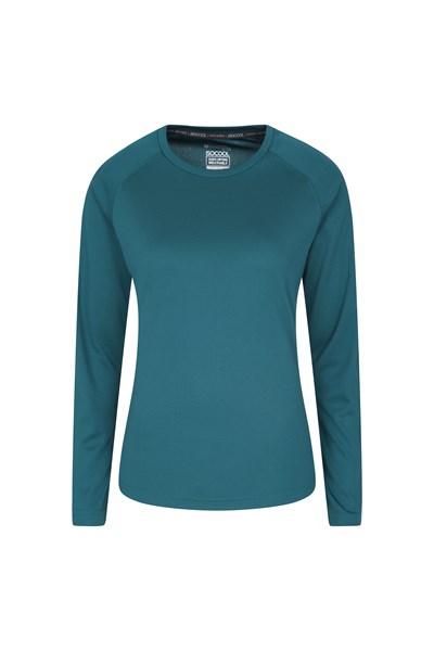 Endurance Womens Long Sleeve Top - Green