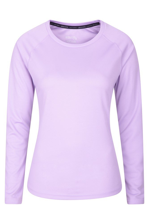 Endurance Womens Long Sleeve Top - Purple