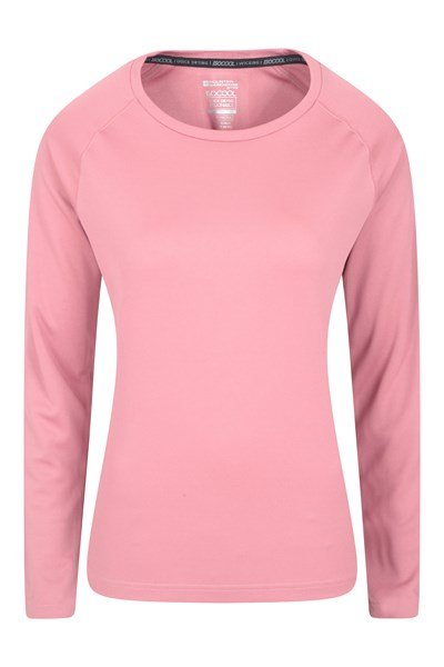 Endurance Womens Long Sleeve Top - Pink