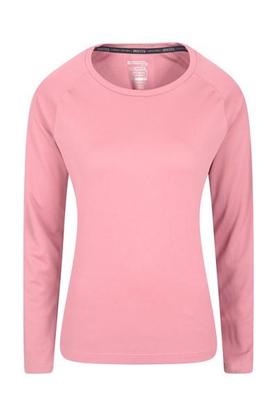 Endurance Womens Long Sleeve Top - Pink