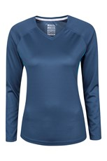 Endurance Womens Long Sleeved V-Neck Top