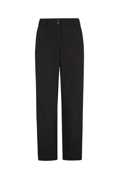 Mesa Extreme Womens Softshell Ski Pants - Black