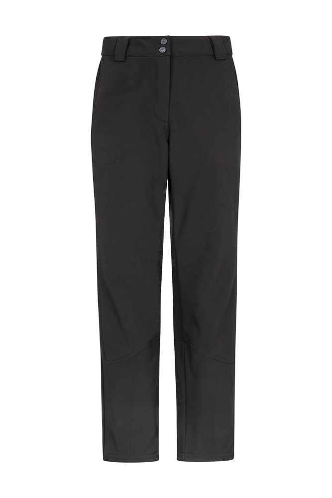 Mesa Extreme Womens Softshell Ski Pants - Black