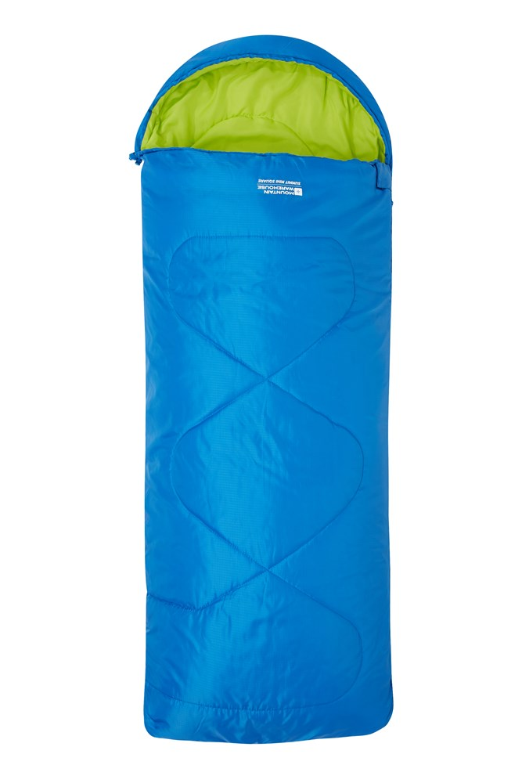Summit Mini Square Sleeping Bag - Blue