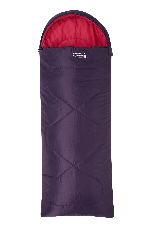 Summit Mini Square Sleeping Bag - Purple