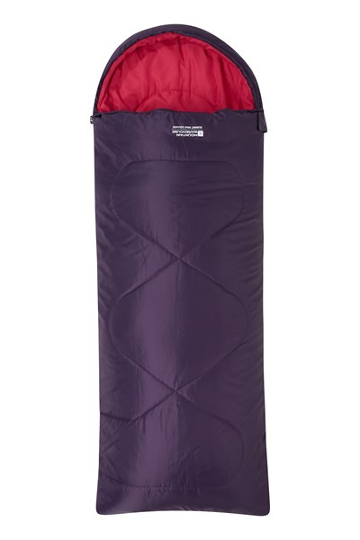 Summit Mini Square Sleeping Bag - Purple