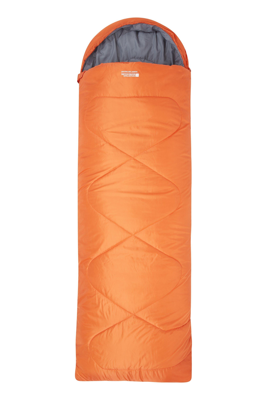 Summit 250 Square Sleeping Bag - Orange