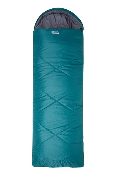 Summit 250 Square Sleeping Bag - Dark Grey