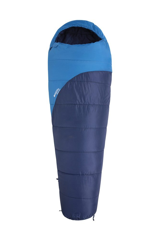 Mountain Warehouse Summit 300 Schlafsack blau, rot | 05057634356138